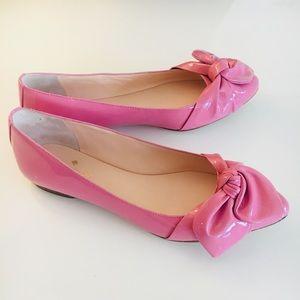 b92cd0bb6c48 kate spade Shoes - Kate Spade Nancy Parisian Pink Patent Flat